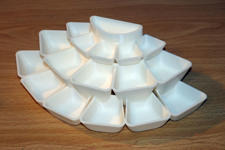 Tray array for jewellery or other small items 3D Print 225987