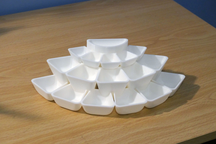 Tray array for jewellery or other small items 3D Print 225989