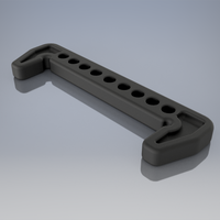 Small Battery holder for buggy XB2C 3D Printing 226228
