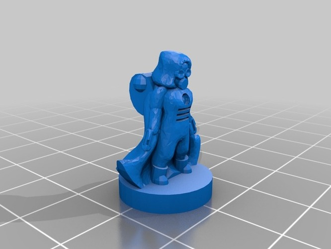 Pocket-Tactics United Separatist Militia 3D Print 2263