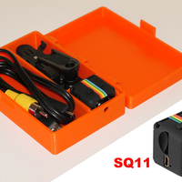 Small Case for the SQ11 Mini DV camera  3D Printing 226370