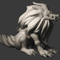 Small Alphyn monster 3D Printing 226383