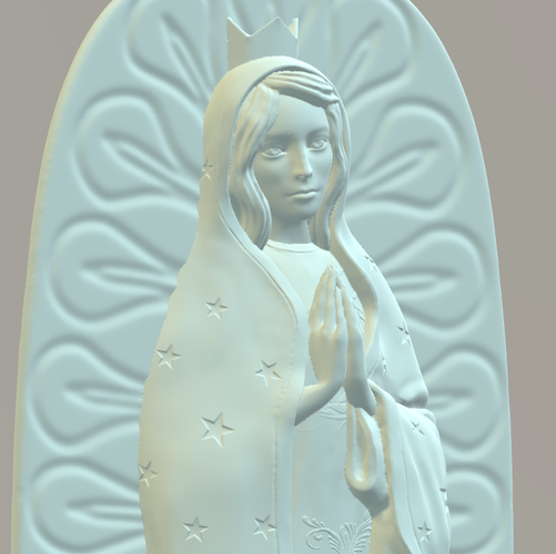 OUR LADY OF GUADALUPE 3D Print 226395