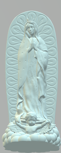 OUR LADY OF GUADALUPE 3D Print 226396