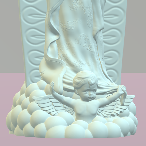 OUR LADY OF GUADALUPE 3D Print 226397
