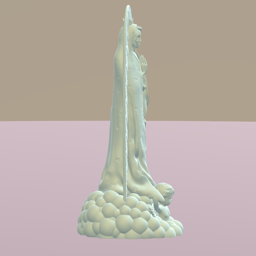 OUR LADY OF GUADALUPE 3D Print 226398