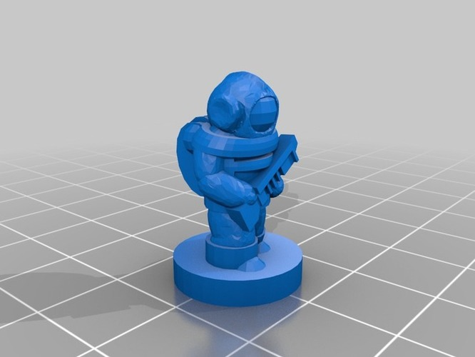 Pocket-Tactics United Separatist Militia 3D Print 2264