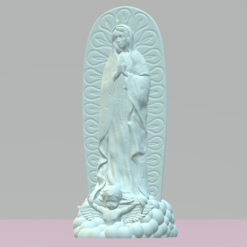 OUR LADY OF GUADALUPE 3D Print 226400