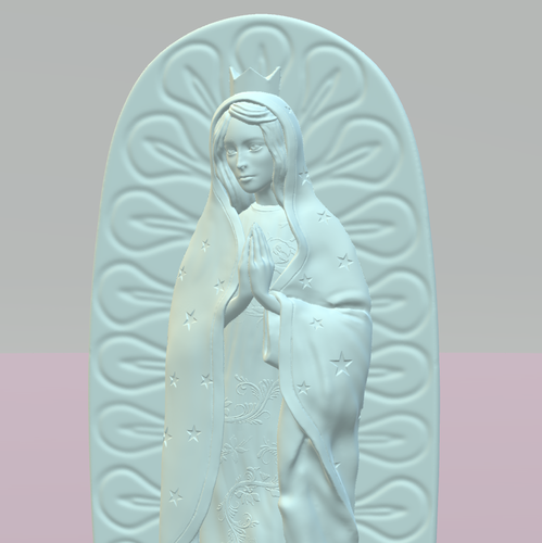 OUR LADY OF GUADALUPE 3D Print 226401