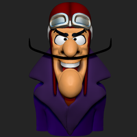Small Dick Dastardly 3D Printing 226407