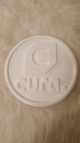 Cura drinkcoaster set 3D Print 226426