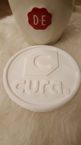 Cura drinkcoaster set 3D Print 226428