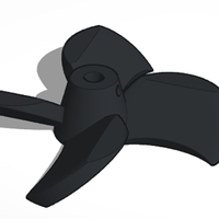 Small Boat propeller 3D Printing 226471