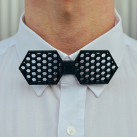 Small Hexagon Bow Tie 3D Printing 226499
