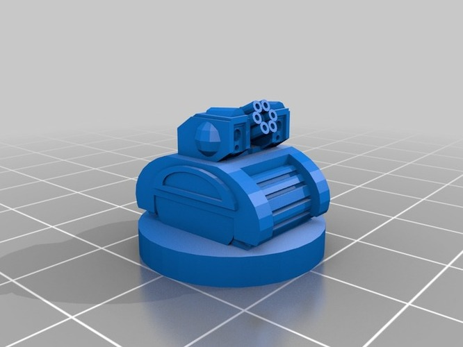Pocket-Tactics United Separatist Militia 3D Print 2265