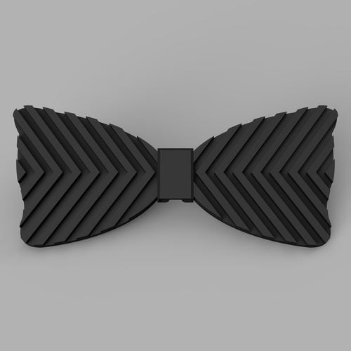 Lines Bow Tie