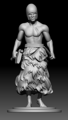 Sumerian warrior 3D Print 226514