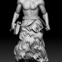 Small Sumerian warrior 3D Printing 226514