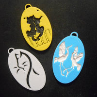 Small Pendants 2 3D Printing 22652