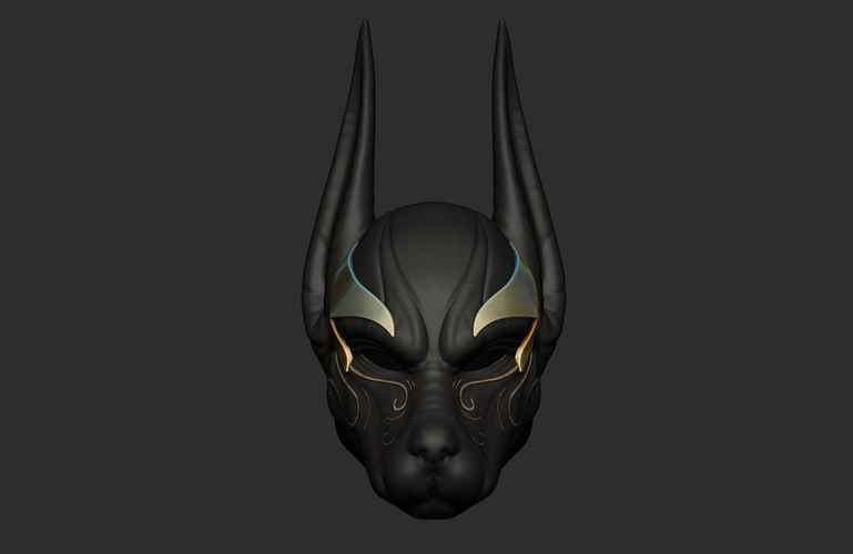 Anubis Helmet For Cosplay 3D Print 226603