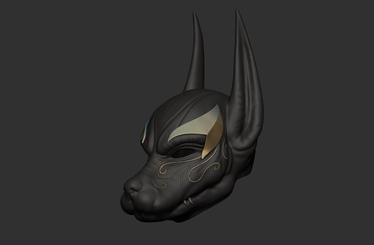 Anubis Helmet For Cosplay 3D Print 226604