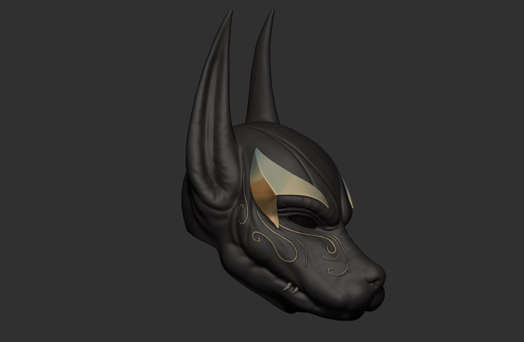 Anubis Helmet For Cosplay 3D Print 226607