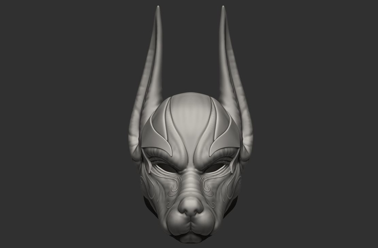 Anubis Helmet For Cosplay 3D Print 226608