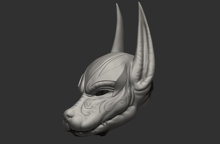 Anubis Helmet For Cosplay 3D Print 226609
