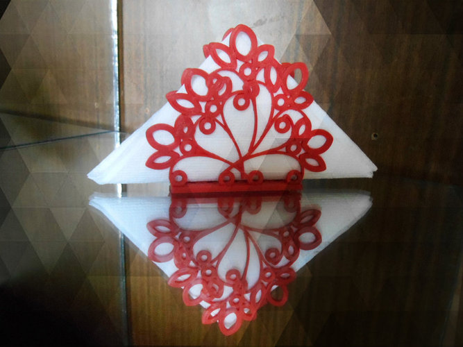 Stand for napkins 3D Print 22662