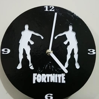 Small Fornite Clock 3D Printing 226624