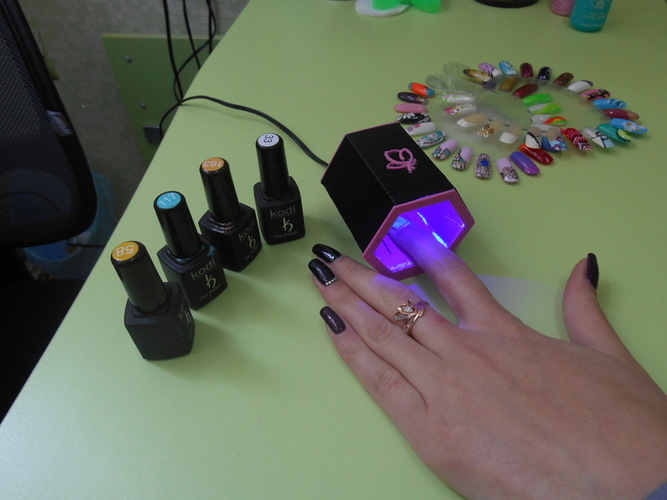UV LED nail lamp. 3D Print 22669