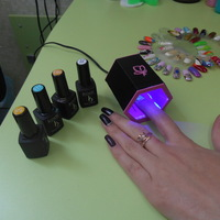 Small UV LED nail lamp. 3D Printing 22669