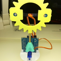 Small Snap4Arduino - Sunflower 3D Printing 226771