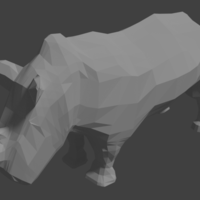 Small Practice 3D. P9. LowPolyRhino 3D Printing 226890