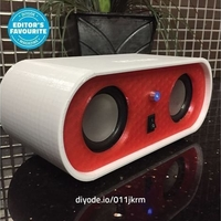 Small Bluetooth Speaker 3D Printing 226912