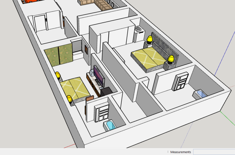 house interior( multistory rooms) 3D Print 226935