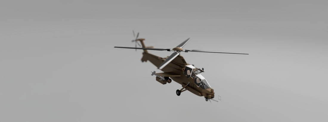 Rooivalk Attach helicopter 3D Print 226972