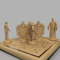 Small Harry Potter board game 3D Printing 227284