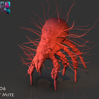 Small Dust Mite 3D Printing 227342