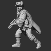 Small Sergeant Hope Ranger Gear  3D Printing 227402