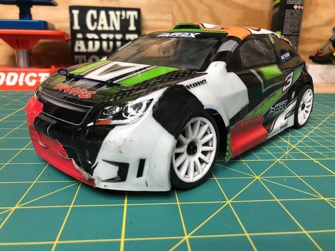 Latrax Rally 1/18th Scale Parts 3D Print 227423