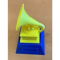 Small  Grammy Award 3D Printing 227454