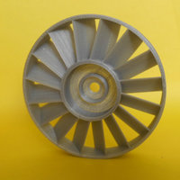 Small axial compressor stator 3D Printing 22747