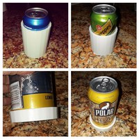 Small Can Coaster Koozie aka Cozy set for Ninjaflex 3D Printing 227515