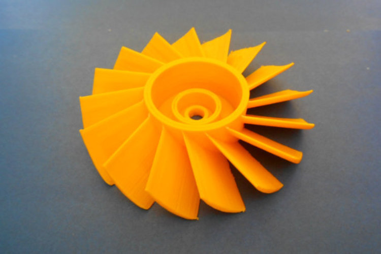 AXIAL TURBINE WHEEL 3D Print 22767