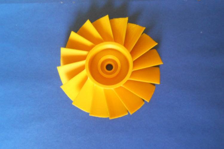 AXIAL TURBINE WHEEL 3D Print 22768