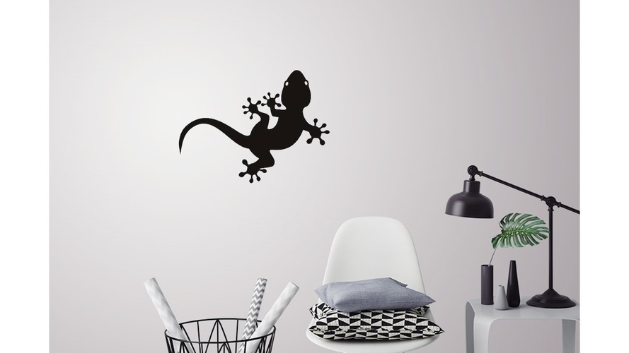 Lizard for wall decoration 3D Print 227702