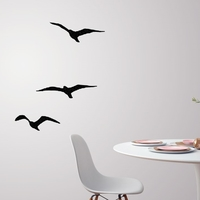Small Flying birds for wall decoration  3D Printing 227708