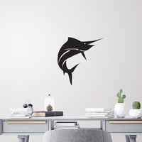 Small Sail fish for wall decoration 3D Printing 227709