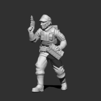 Small Authority Combat Medic 3D Printing 227724